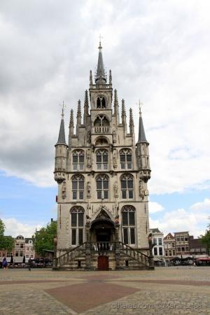 Paisagem Urbana/Gouda, Holanda.