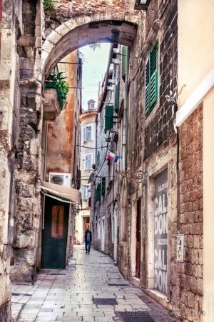 Paisagem Urbana/Split, Croacia