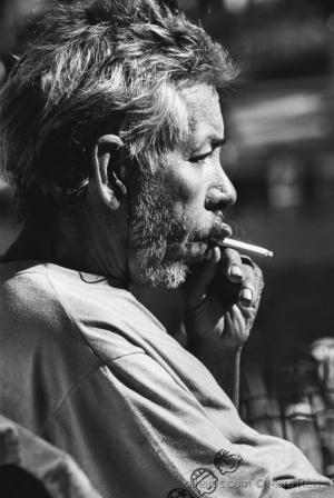 Retratos/Um homem velho