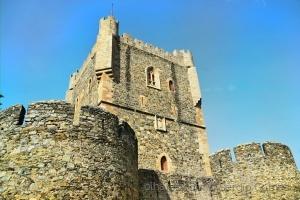 /O fabuloso castelo de Bragança!