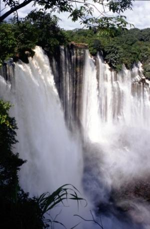 Paisagem Natural/Angola - Kalandula...