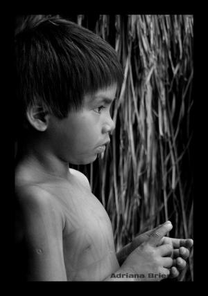 Gentes e Locais/Criança Indígena II