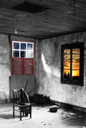 Arte Digital/casa abandonada
