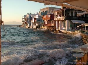 Paisagem Urbana/Casas com vista para o mar...