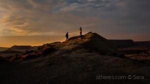 Paisagem Natural/Face to face at sunset...