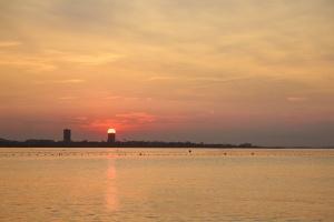 Paisagem Natural/pôr-do-sol em cúpula