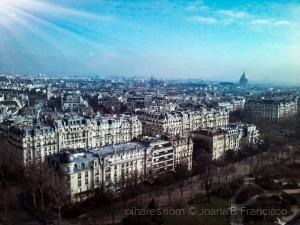 Paisagem Urbana/Lá alto em Paris