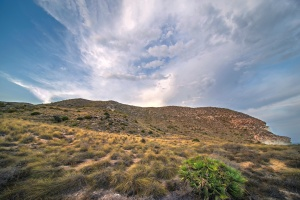 Paisagem Natural/Fim de tarde em Cabo de Gata