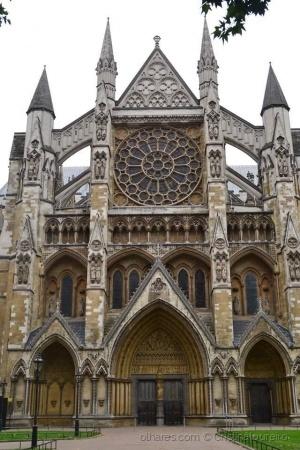 História/Entrada Norte de Abadia de Westminster - Londres
