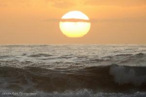 Paisagem Natural/Sol,céu e mar...