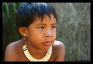 Gentes e Locais/Criança Indígena III
