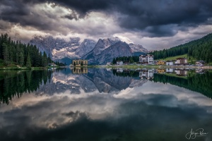 Paisagem Natural/Lago Misurina