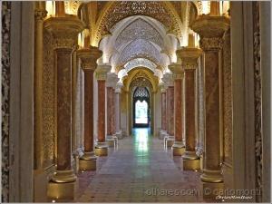 /Pormenor interior do Palácio de Monserrate (desc.)