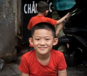 Retratos/The small seller...