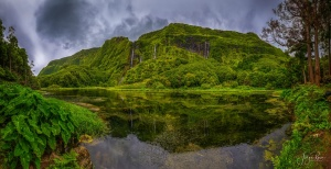 Paisagem Natural/Ilha das Flores - Poço da Alagoinha
