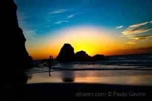 Paisagem Natural/(praias) ESPERANDO O SOL