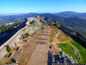/Panorâmica no castelo de Marvão