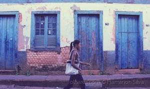 Gentes e Locais/Painel histórico em ruínas