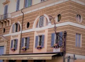 /A Praça do Povo em Roma