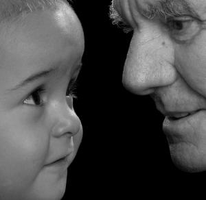 Retratos/olhares de carinho