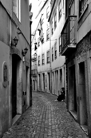 Outros/Numa rua de Lisboa...