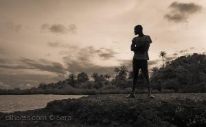 Gentes e Locais/Sunset silhouette...