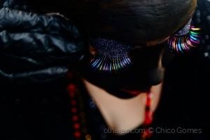 Fotojornalismo/Retoque de maquiagem da Rainha de Maracatu