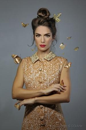 Moda/Lady butterfly VI