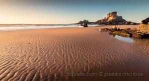 Paisagem Natural/Ondas de areia