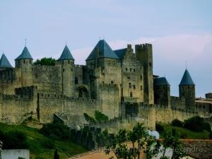 /Castelo medieval de Carcassonne