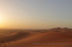 /Dunas de Erg Chebbi, Marrocos.