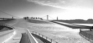 /walking in the light in Lisbon