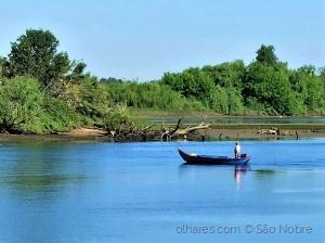 / Rio Tejo em Escaroupim