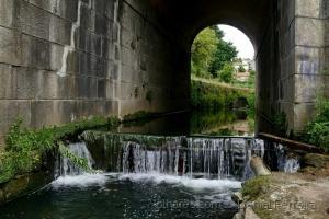 /O túnel e a queda de água
