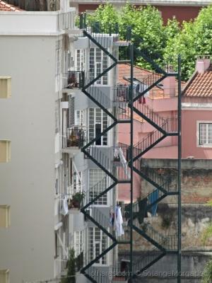 /As chamadas escadas de serviço