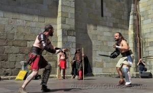 Espetáculos/Gladiadores em Bracara Augusta