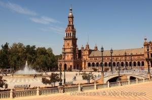 /Plaza de España, Sevilla.