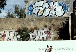 Paisagem Urbana/Um muro imaculado
