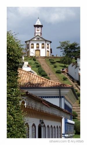Paisagem Urbana/Serro, MG, Brasil.