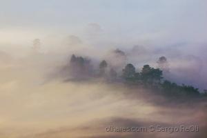 Paisagem Natural/Amanhecer nas montanhas de São Paulo
