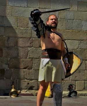 """Espetáculos/""""O Gladiador"""""""