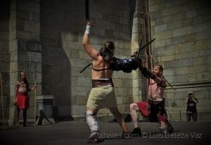 """História/""""Gladiadores na luta pela sobrevivência"""""""