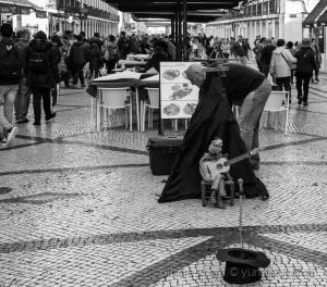 Paisagem Urbana/Artista de rua.