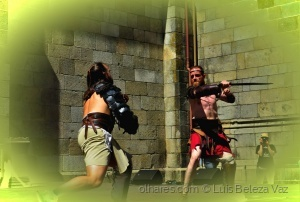 """História/""""a hora do duelo"""""""