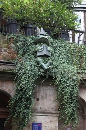 Animais/Marburgo/Alemanha. Homenagem aos Irmãos Grimm.