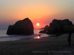 /Pôr do sol no Algarve
