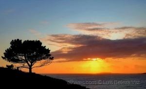 Paisagem Natural/Fim de um belo dia na Galiza