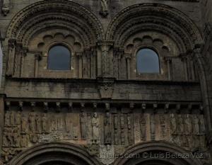 História/Fachada das Pratarias na Catedral de Santiago