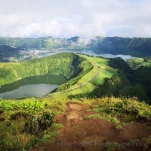 Paisagem Natural/Lagoa das Sete Cidades, S. Miguel, Açores