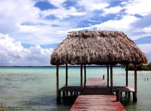 Paisagem Natural/Laguna de Bacalar, Quintana Roo, México